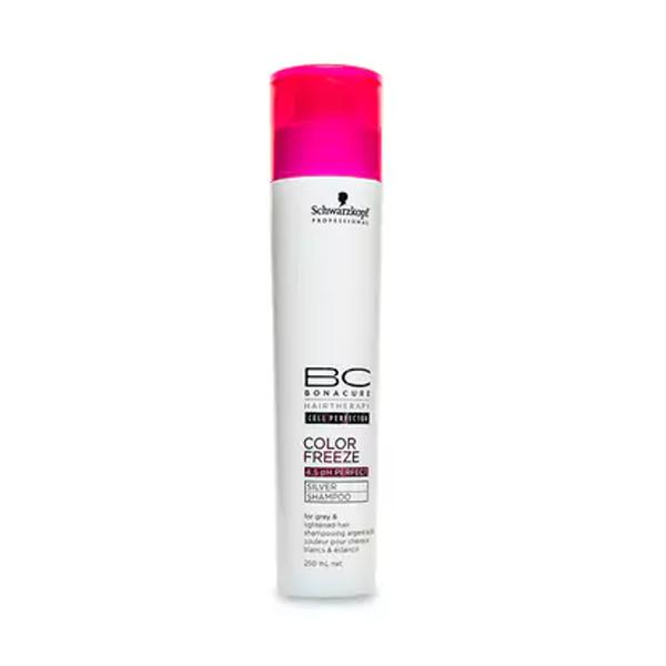 Schwarzkopf BC Color Freeze Silver Shampoo, 250 ml (ny)