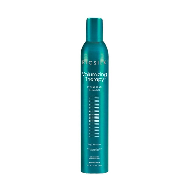 Image of   BioSilk Volumizing Therapy Styling Foam, 360 g