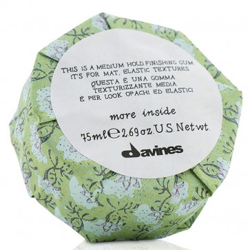 Davines More Inside Medium Hold Finishing Gum, 75 ml