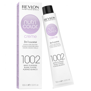 Revlon Nutri Color Creme 1002 White Platinium, 100 ml