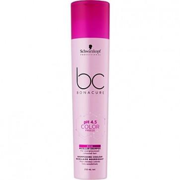 Schwarzkopf BC ph 4.5 Color Freeze Rich Shampoo, 250 ml