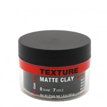 Style Sexy Hair, Matte Clay Texturizing Clay, 50 g