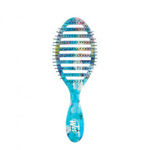 The Wet Brush Pro Epic Speed Dry, blue and yellow florel