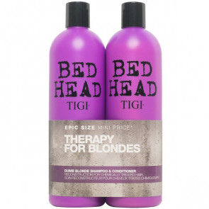Tigi Bed Head Dumb Blonde Tween Shampoo og conditioner 2 x 750 ml
