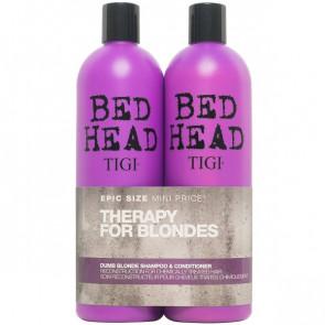 Tigi Bed Head Dumb Blonde Tween Shampoo og conditioner 2 x 750 ml