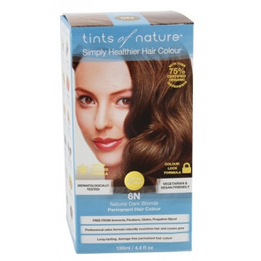 Tints of Nature 6N Natural Dark Blonde, 130 ml