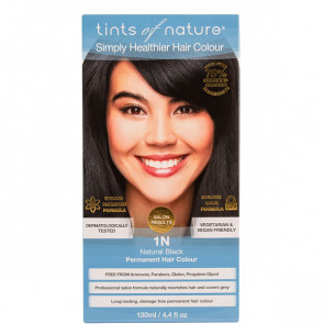 Tints of Nature 1N  Natural Black, 130 ml