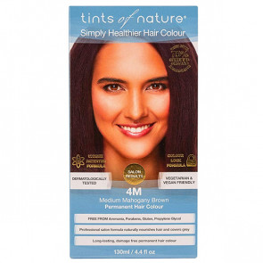 Tints of Nature 4M Medium Maghony Brown, 130 ml