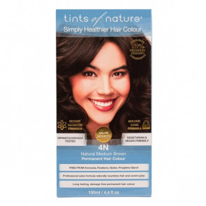 Tints of Nature 4N Natural Medium Brown, 130 ml