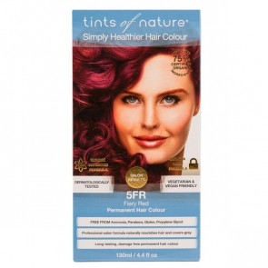 Tints of Nature 5FR Fiery Red, 130 ml