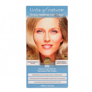 Tints of Nature 8N Natural Light Blonde, 130 ml
