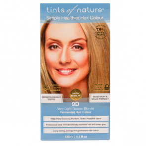 Tints of Nature 9D Very Light Golden Blonde, 130 ml
