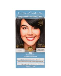 Tints of Nature 1N  Natural Black, 130 ml