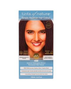 Tints of Nature 4M Medium Maghony Brown, 130 ml