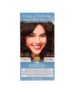 Tints of Nature 4N Natural Medium Brown, 130 ml