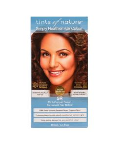 Tints of Nature 5R Rich Copper Brown, 130 ml