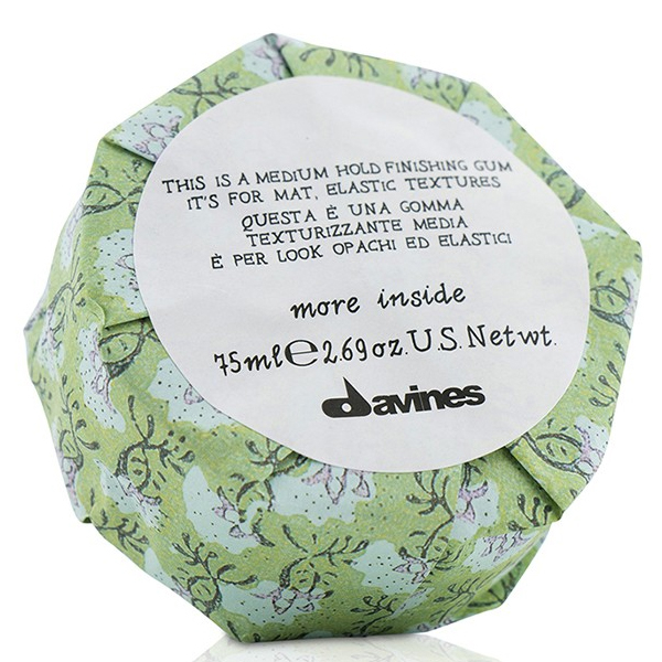 Image of   Davines More Inside Medium Hold Finishing Gum, 75 ml