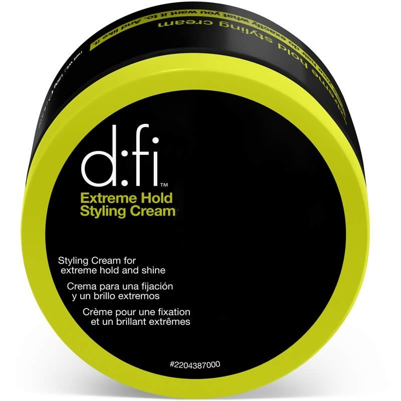 D:fi – D:fi  extreme hold styling creme 150 ml big size (grøn) på hairoutlet