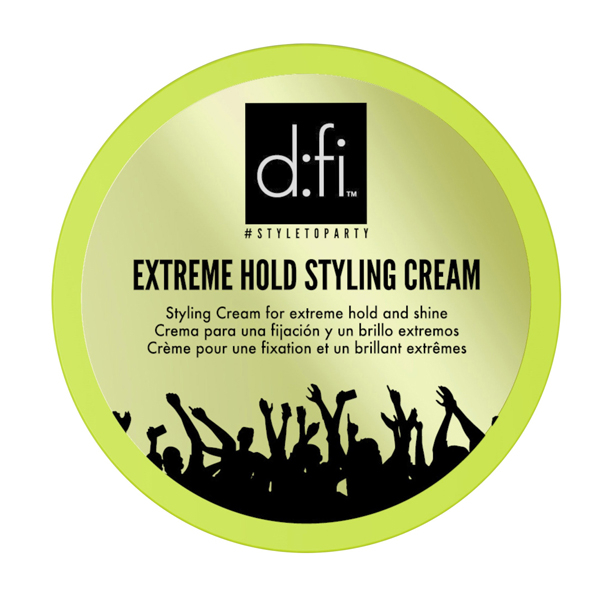 Image of   D:fi Extreme Hold Styling Creme 75 ml (grøn)