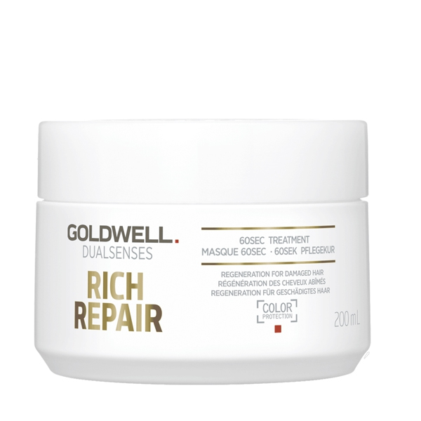 Image of   Goldwell Dualsenses Rich Repair 60 sec. treatment, 200 ml (Ny)