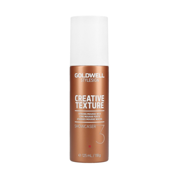 Goldwell Creative Texture Showcaser Strong Mousse Wax, 125 ml thumbnail