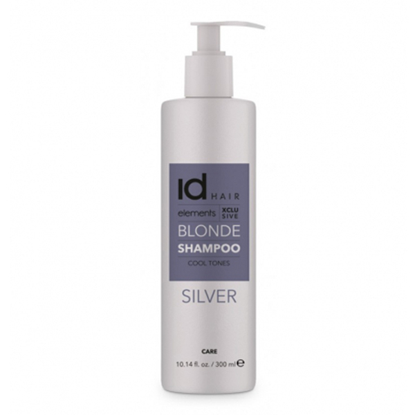 Image of   Id Hair Elements Xclusive Blonde Silver Shampoo, 300 ml