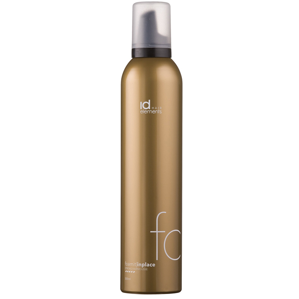 Image of   ID Hair Elements Foam It In Place Hairmousse, 300 ml