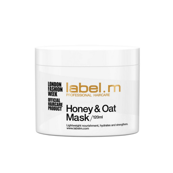 Label m Label.m honey & oat mask, 120ml på hairoutlet