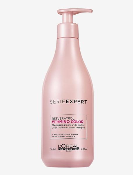 Loreal Resveratrol Vitamino Color Shampoo 500 ml thumbnail