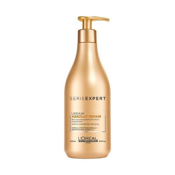 Loreal Absolut Repair Lipidium Shampoo, 500 ml (ny)