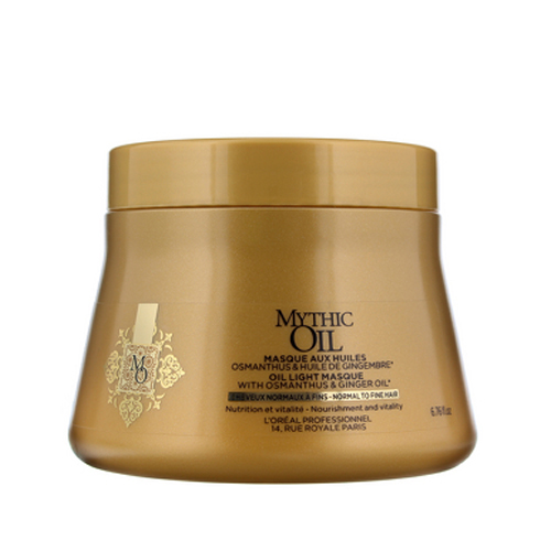 Loreal Mythic Oil Masque, 200 ml (fine hair)