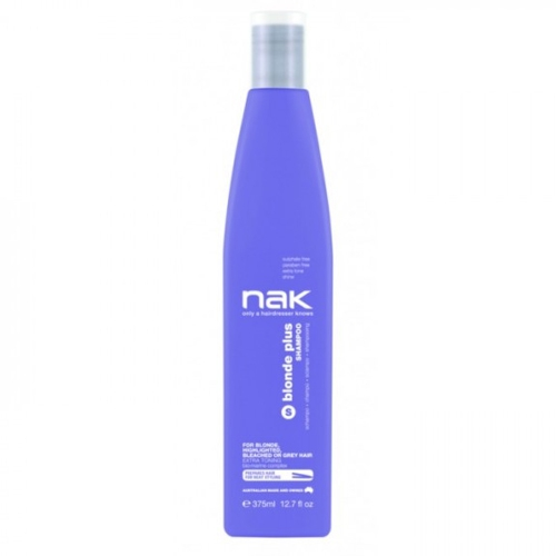 Nak Blonde Shampoo Plus, 375ml