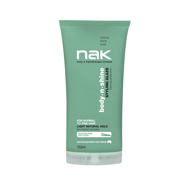 NAK Body.n.Shine Styling Glaze, 150 ml