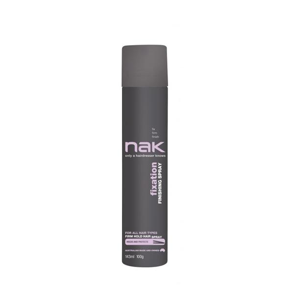 Billede af Nak Fixation Finishing Hairspray, 143ml Rejsestr.
