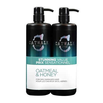 Billede af Tigi Catwalk Oatmeal & Honey shampoo & Conditioner 2 x 750 ml