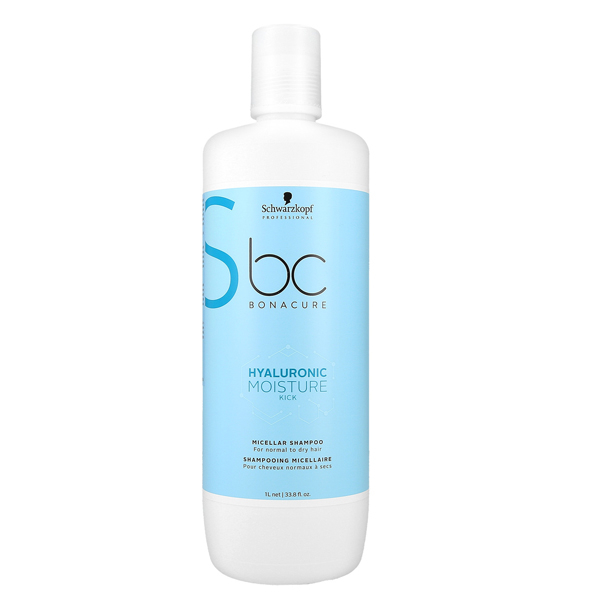 Schwarzkopf BC Hyaluronic Moisture Kick Shampoo, 1000ml thumbnail
