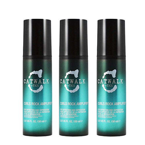 Billede af Tigi Catwalk Curlesque Curls Rock Amplifier, 150 ml (3pak)