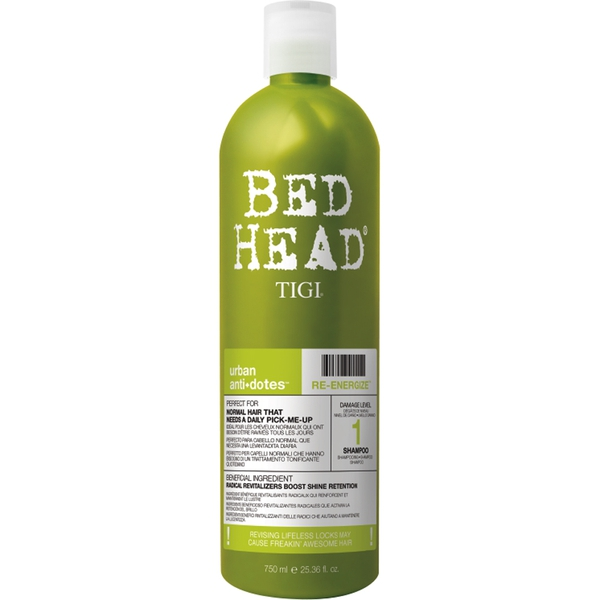 Billede af Tigi Bed Head Urban Anti-dotes Re-Energize Shampoo 750 ml