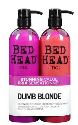 Billede af Tigi Bed Head Dumb Blonde Tween Shampoo og conditioner 2 x 750 ml