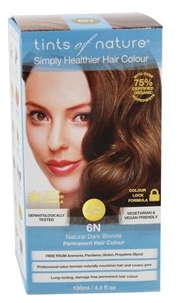 Tints of Nature 6N Natural Dark Blonde, 130 ml