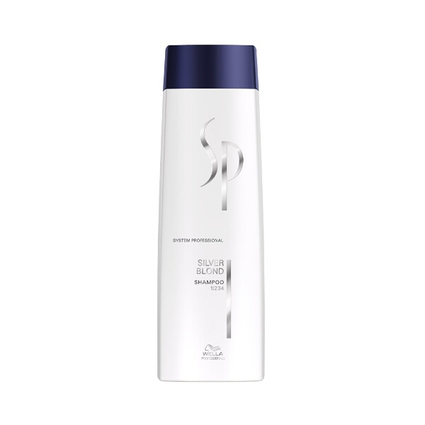 Wella sp silver blond shampoo, 250ml fra Wella professional fra hairoutlet