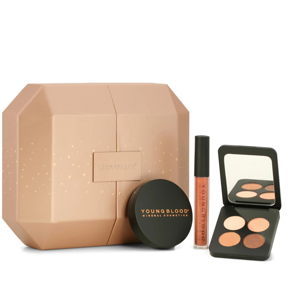 Image of   Youngblood Holiday Treats Makeup Set