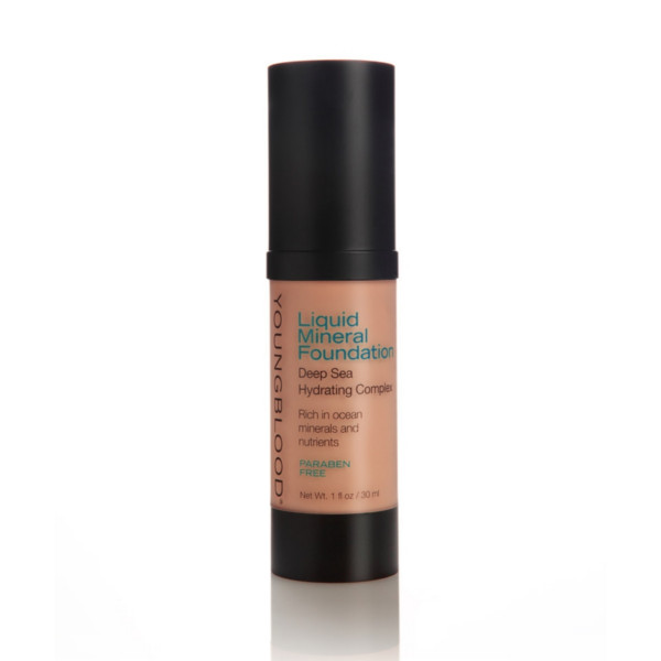 Image of   Youngblood Liquid Mineral Foundation, Golden Tan, 30 ml