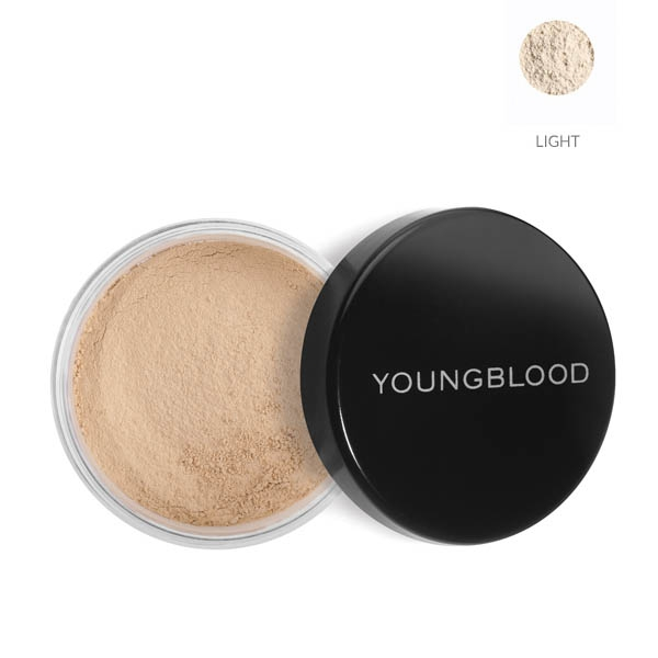 Image of   Youngblood Loose Mineral Rice Setting Powder, Light 10 g