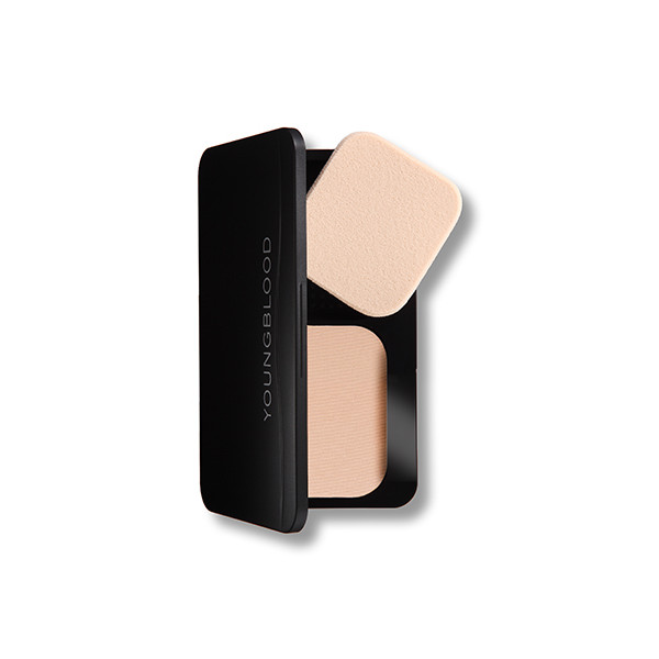 Image of   Youngblood Pressed Mineral Foundation, Honey, 8g