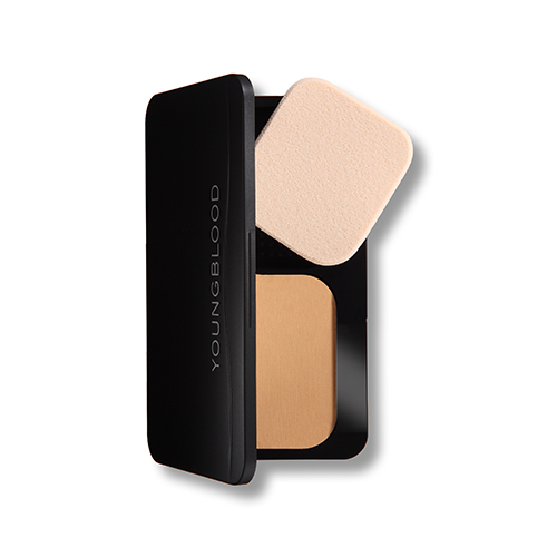 Image of   Youngblood Pressed Mineral Foundation, Warm Beige, 8g